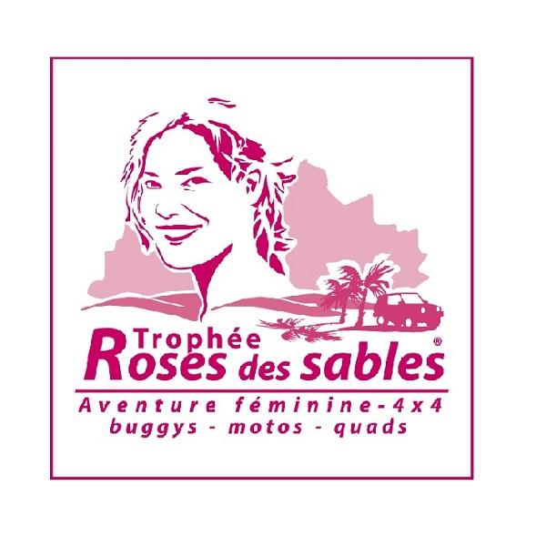 Logo Rallye Rose des sables